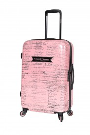 Valise femme Chantal Thomass From Paris with Love rose