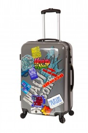 Valise rigide 4 roues Maui and Sons motifs effets stickers
