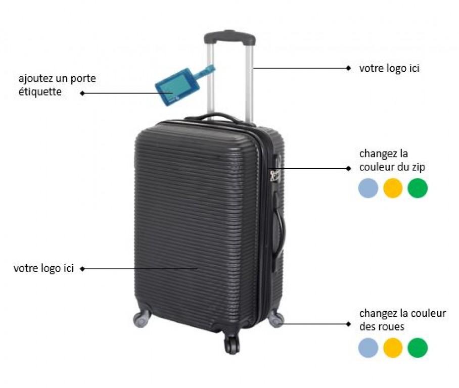 3314f12c7d Sac, sac de voyage, sac shopping, totebag, valise souple et rigide, vanitys  personnalisés à votre image