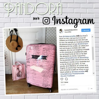 Article Instagram Pandora sur Chantal Thomass
