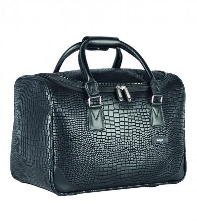 acheter en ligne cb19c 0dec7 Rock petit sac de voyage 40 cm PVC floqué effet crocodile