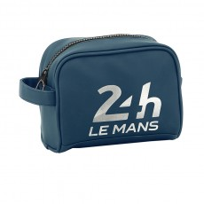 24H Le Mans trousse de toilette bleue pour homme - Vanity case for men blue