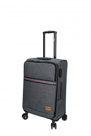 valise souple sangle tricolore mode